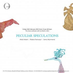 Peculiar Speculations